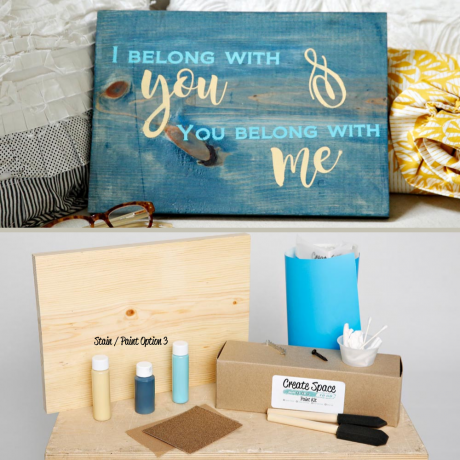 I Belong With You Wood Sing Pack