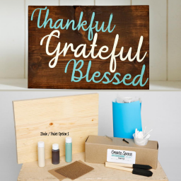 l Blessed wood sign pack.